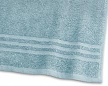 Serviette d'invité Basic Éponge - Turquoise 30x50 cm