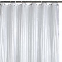Rideau de douche - Blanc 180x200 cm