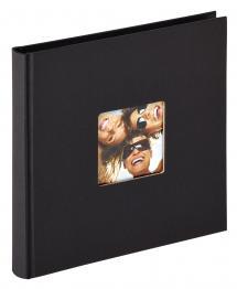 Fun Album Noir - 18x18 cm (30 pages noires / 15 feuilles)