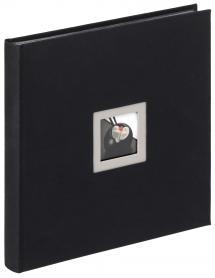 Black & White Album Noir - 30x30 cm (50 Pages noires / 25 feuilles)