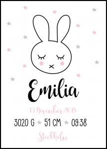 Baby Rabbit - Pink