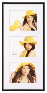 New Lifestyle Cadre collage Noir - 3 images (15x20 cm)