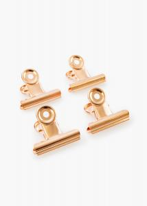 KAILA Poster Clip Rose Gold 40 mm - 4-p