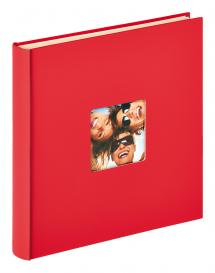 Fun Autocollant Rouge - 33x34 cm (50 Pages blanches / 25 feuilles)