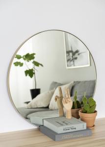 Miroir Vendela Laiton 80 cm Ø