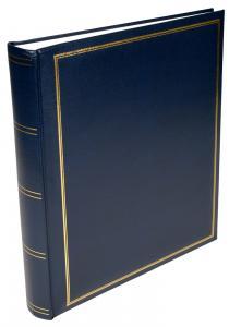 Exclusive Line Maxi Album Bleu 30x33 cm (100 pages blanches / 50 feuilles)