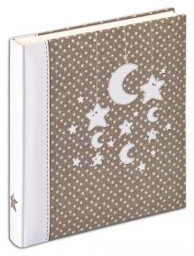 Stars & Moon Album - 28x30,5 cm (50 pages blanches / 25 feuilles)