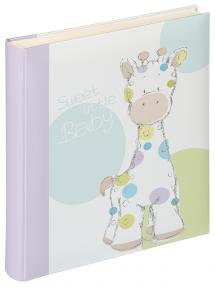 Kima Album bébé - 28x30,5 cm (50 pages blanches / 25 feuilles)