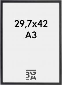 Cadre Galant Verre Acrylique Noir 29,7x42 cm (A3)