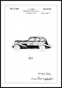 Dessin de brevet - La Salle III Poster
