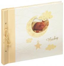 Album bébé Bambini Maxi Creme - 28x25 cm (60 pages blanches / 30 feuilles)