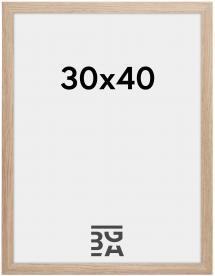 Cadre Stilren Verre Acrylique Chêne 30x40 cm