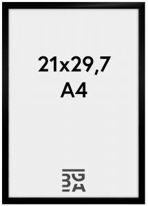 Cadre New Lifestyle Noir 21x29,7 cm (A4)