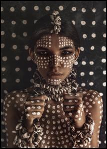 Aboriginal body art I Poster