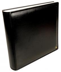 Henzo Gran Cara Premium Album photo Noir 31x33cm 100 pages blanches/50 feuilles