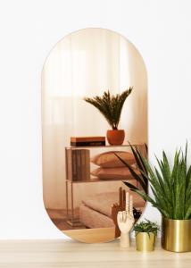 KAILA Miroir Oval Rose Gold 50x100 cm