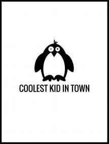 Pingouin Cool Poster