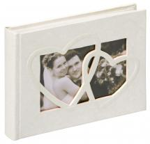 Sweet Heart Album photo - 22x16 cm (40 pages blanches / 20 feuilles)
