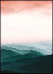Colorful View Poster