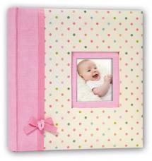 Kara Album Rose - 24x24 cm (40 pages blanches / 20 feuilles)