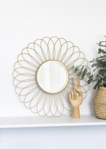 KAILA Miroir Flower - Or 50 cm Ø