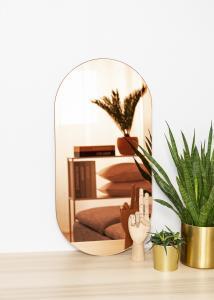 KAILA Miroir Oval Rose Gold 35x70 cm