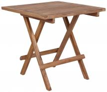 Table d'appoint Bilbao 50x50 cm - Teck