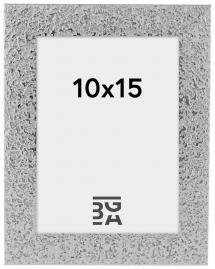Cadre Glamour Argent 10x15 cm