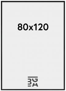 Cadre Amanda Box Verre Acrylique Noir 80x120 cm