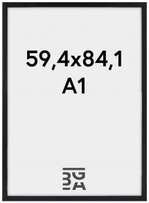 Cadre Stilren Verre Acrylique Noir 59,4x84,1 cm (A1)
