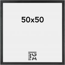 Cadre Black Wood 50x50 cm