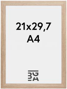 Cadre Stilren Verre Acrylique Chêne 21x29,7 cm (A4)