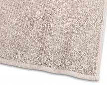 Serviette d'invité Stripe Éponge - Sable 30x50 cm