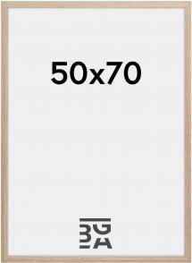 Cadre Stilren Verre Acrylique Chêne 50x70 cm