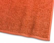 Serviette d'invité Stripe Éponge - Orange 30x50 cm