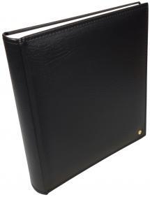 Henzo Lonzo Album - Noir - 28x30 cm (70 pages blanches / 35 feuilles)