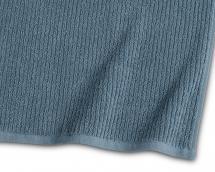 Serviette de bain Stripe Éponge - Bleu 65x130 cm
