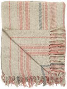 Plaid Stripes - Nature 130x160 cm