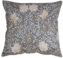 Matilda Housse de coussin Bleu/Blanc 45x45 cm