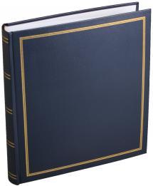Diamant Album photo Bleu 27,5x32 cm (100 pages blanches / 50 feuilles)
