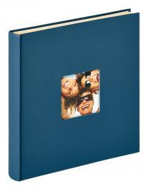 Fun Autocollant Bleu - 33x34 cm (50 Pages blanches / 25 feuilles)