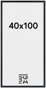 Cadre Stilren Verre Acrylique Noir 40x100 cm