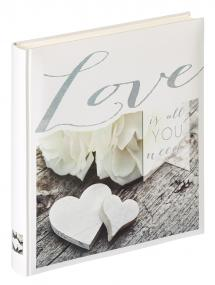 Love is all you need - Album photo - 28x30,5 cm (50 pages blanches/25 feuilles)