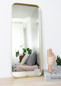 Miroir Square Laiton 31x76 cm