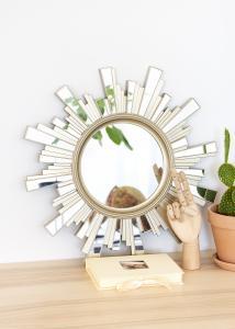 Miroir Soleil 50x50 cm