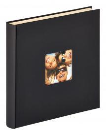 Fun Autocollant Noir - 33x34 cm (50 Pages blanches / 25 feuilles)