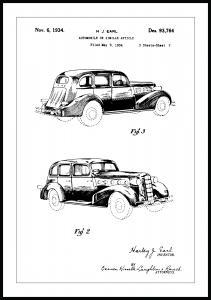 Dessin de brevet - La Salle II Poster