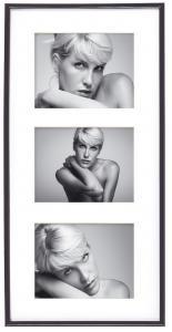Galeria Cadre collage Noir - 3 images (13x18 cm)