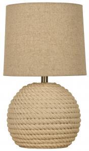Lampe de table Sisal - Blanc-cassé