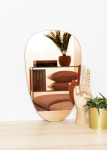 KAILA Miroir Shape II Rose Gold 25x40 cm